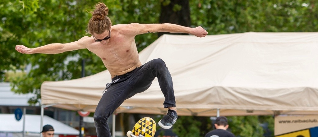 "Skateboard-Contest am ""Habedere"""