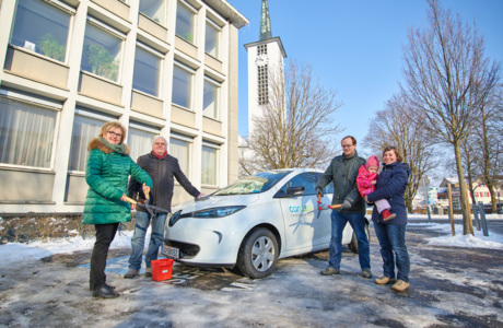 Carsharing Winter